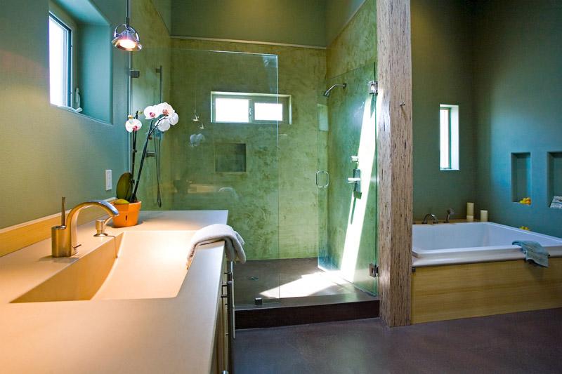NatureCast Concrete Showers