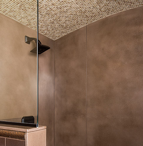 NatureCast Concrete Showers | Cement Elegance