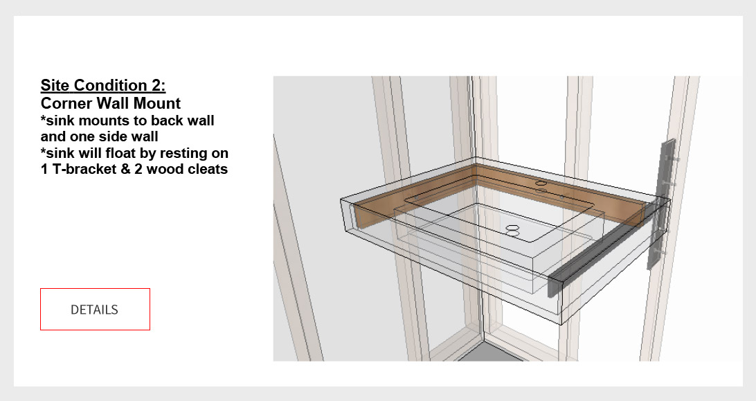 Floating Mounting Suggestions Cement Elegance