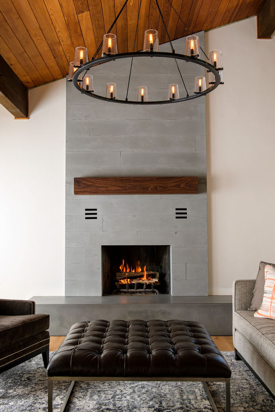 naturecast concrete fireplaces cement elegance