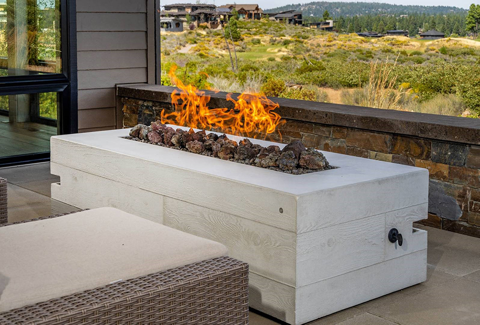 Concrete Firepits With Naturecast Cement Elegance